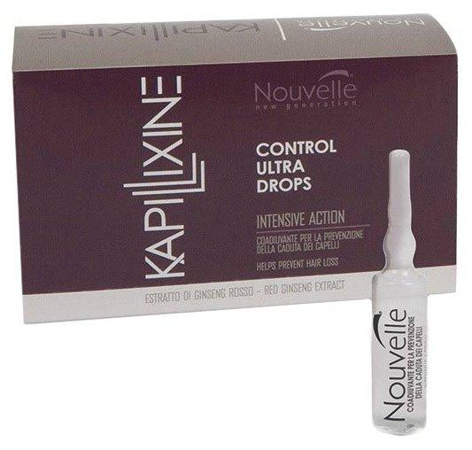 Nouvelle Kapillixine Hairloss Prevention Лосьон для волос против выпадения с экстрактом красного женьшеня