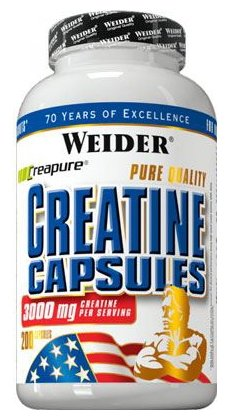 Креатин Weider Creatine Capsules (200 шт.)