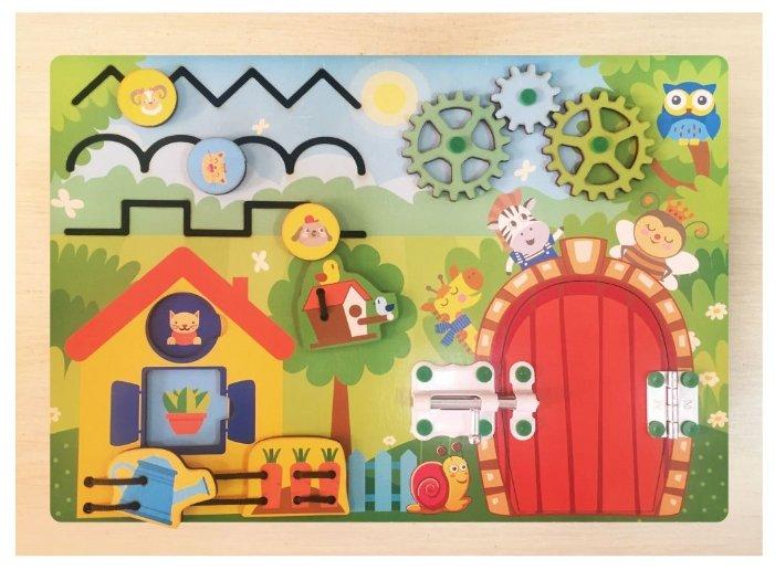 Бизиборд Мастер игрушек Волшебный лес