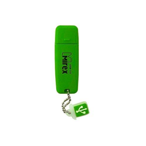 Фото - Флешка Mirex CHROMATIC USB 3.0 8GB, зеленый флешка mirex chromatic usb 3 0 32gb 32 гб красный