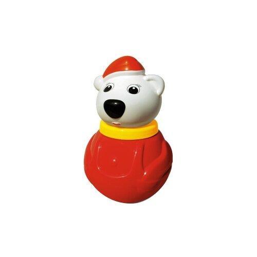 Неваляшка Stellar Белый медведь, упаковка коробка (01609) 18 см красный/белый [супермаркет] jingdong замечательный чистый пластиковая упаковка чаша экономичная упаковка 20 м 20 см