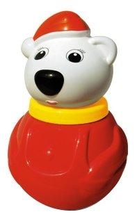 Неваляшка Стеллар Белый медведь, упаковка коробка (01609) 18 см
