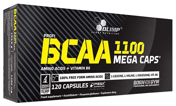 BCAA Olimp BCAA Mega caps (120 капсул)