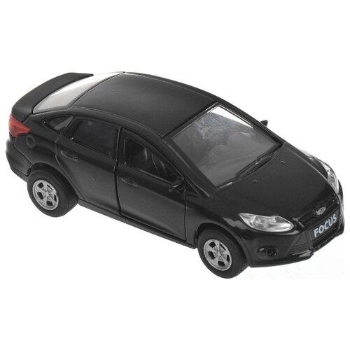 Купить Легковой автомобиль ТЕХНОПАРК Ford Focus (SB-16-45-N-WB) 12 см черный, Машинки и техника
