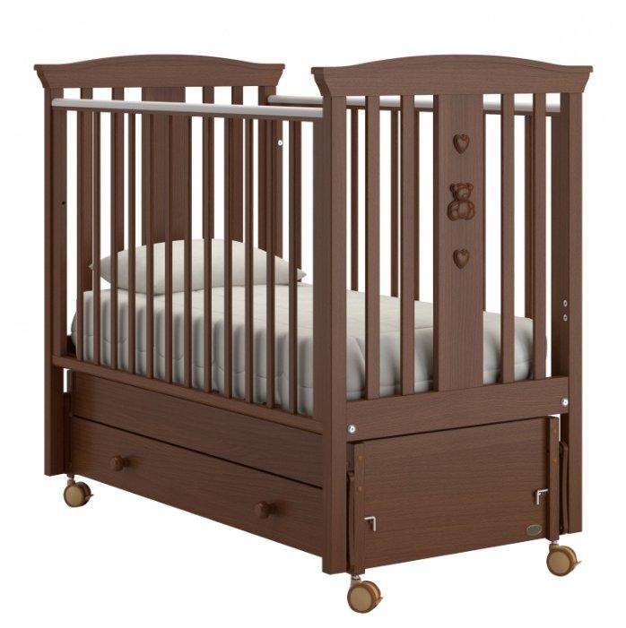 Кроватка Nuovita Fasto (маятник продольный)