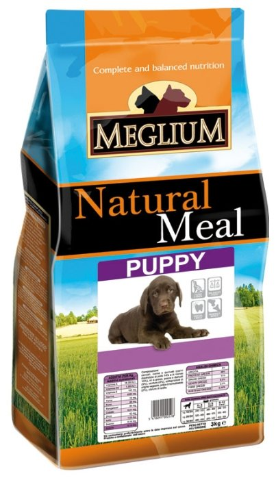 Корм для собак Meglium Puppy