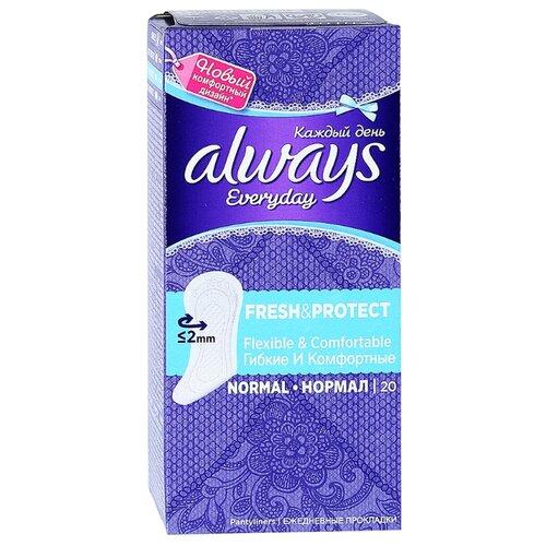 Always прокладки ежедневные Everyday Normal Fresh & Protect 20 шт.Прокладки и тампоны<br>