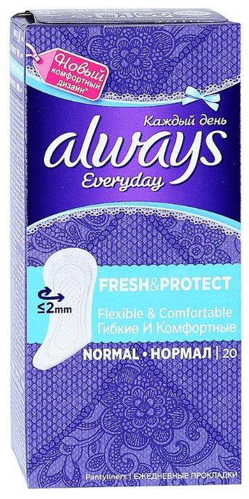 Always прокладки ежедневные Everyday Normal Fresh & Protect 20 шт.
