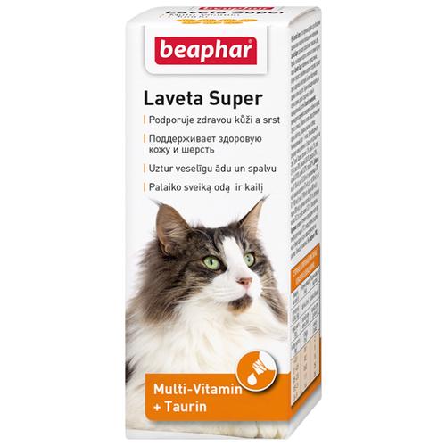 Добавка в корм Beaphar Laveta Super для кошек 50 млВитамины и добавки для кошек и собак<br>