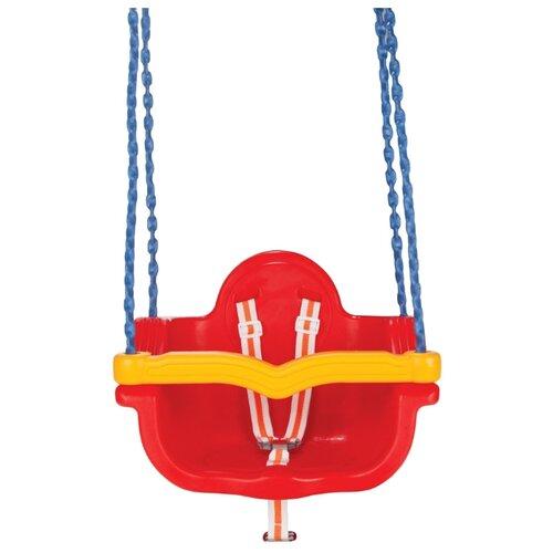 Pilsan Качели подвесные Jumbo Swing на цепях (06-135-T) красный