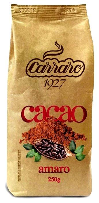 Carraro Bitter Cocoa Amaro Какао-напиток растворимый, пакет