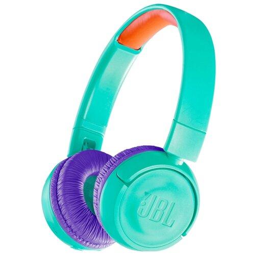 цена на Беспроводные наушники JBL JR300BT turquoise