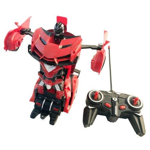 Купить Робот-трансформер База игрушек Авторобот 2 в 1 красный, Роботы и трансформеры