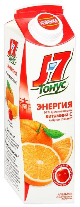 Нектар J7 Тонус Энергия Апельсин-Ацерола, без сахара
