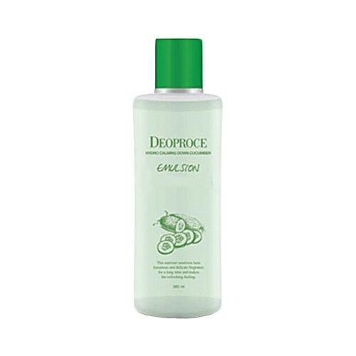 Deoproce Hydro Calming Down Cucumber Emulsion Успокаивающая эмульсия для лица с экстрактом огурца, 380 мл
