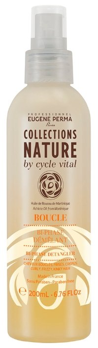 EUGENE PERMA Collections Nature by cycle vital лосьон для расчесывания Nature Bi-phase Demelant