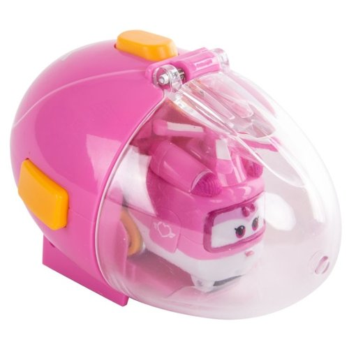 Купить Вертолет Auldey Super Wings Диззи в яйце (YW710664) 6.5 см розовый, Машинки и техника