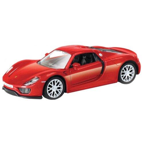 Купить Легковой автомобиль Autotime (Autogrand) Porsche 918 Spyder 5 (49937) 1:32 красный, Машинки и техника