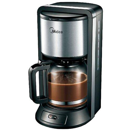 Кофеварка Midea CFM-1500, черный/металлик