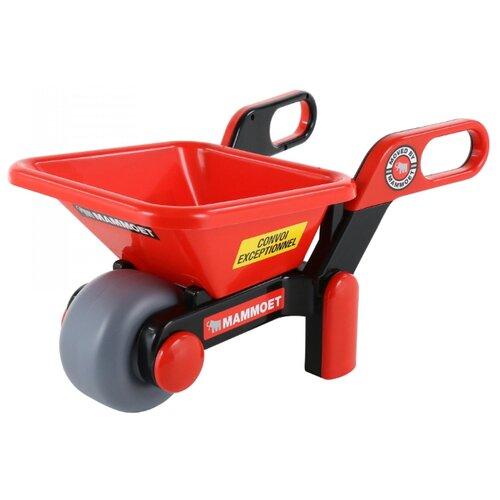 Фото - Тележка Полесье MAMMOET 68538 красный/черный/серый полесье набор игрушек для песочницы 468 цвет в ассортименте