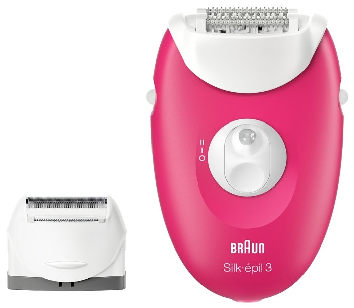 Эпилятор Braun 3410 Silk-epil 3 Legs & body