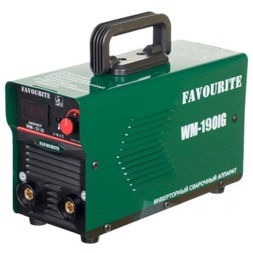 цена на Сварочный аппарат FAVOURITE WM-190IG (MMA)