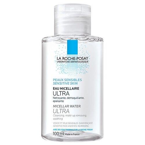 La Roche-Posay мицеллярная вода для чувствительной кожи лица и глаз Ultra Sensitive, 100 мл la roche posay мицеллярная вода для чувствительной и склонной к аллергии кожи лица и глаз ultra reactive 100 мл