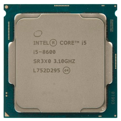 Процессор Intel Core i5-8600 Coffee Lake (3100MHz, LGA1151 v2, L3 9216Kb)