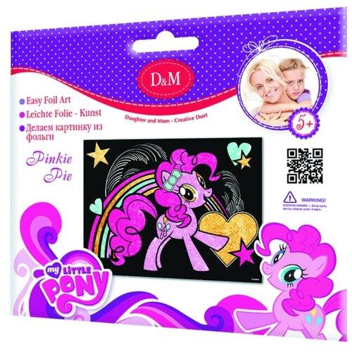 Купить D&M Набор для создания аппликации из фольги Пинки пай My Little Pony (57932), Поделки и аппликации