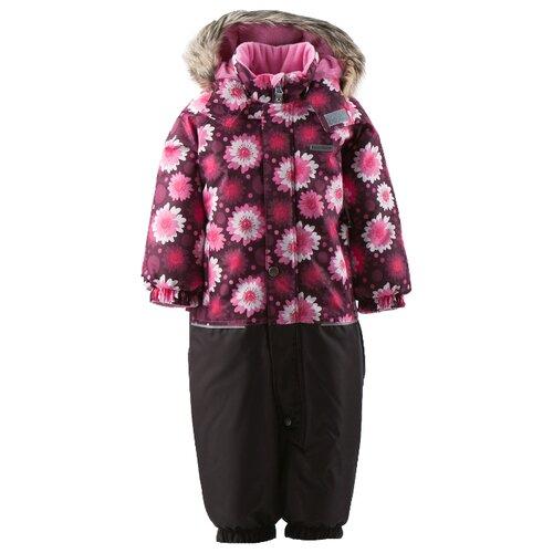 Купить Комбинезон KERRY FUN K18409 размер 80, 6230 бордовый/розовый/белый, Теплые комбинезоны
