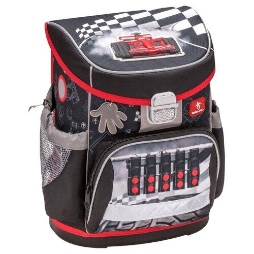Купить Belmil Ранец Speed Racing (405-33/613), черный/красный, Рюкзаки, ранцы