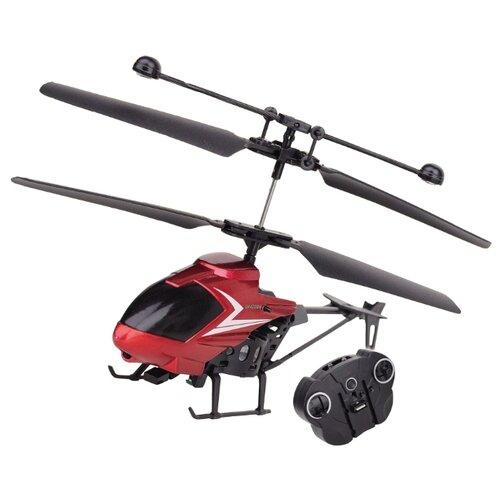 Вертолет Властелин небес Пчелка (BH 2206) 30 см красный/черный квадрокоптер властелин небес квадрик bh 3375