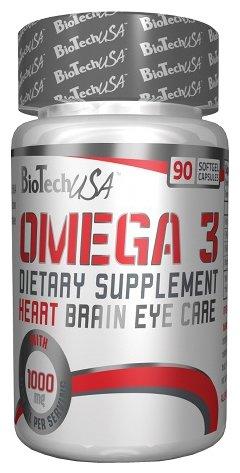 Рыбий жир BioTech Omega 3 (90 капсул)