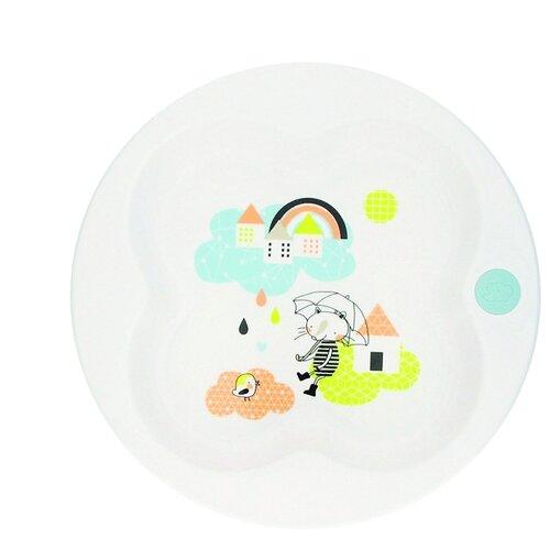 Тарелка Bebe confort в форме клевера under the rainbow