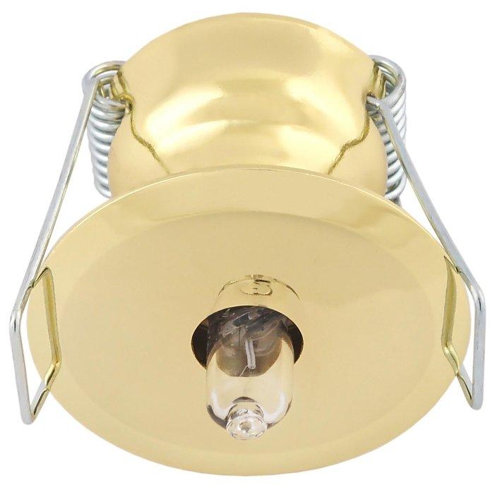 Встраиваемый светильник De Fran FT 9221 G, золото