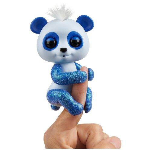 Купить Интерактивная игрушка робот WowWee Fingerlings Панда в блестках арчи, Роботы и трансформеры