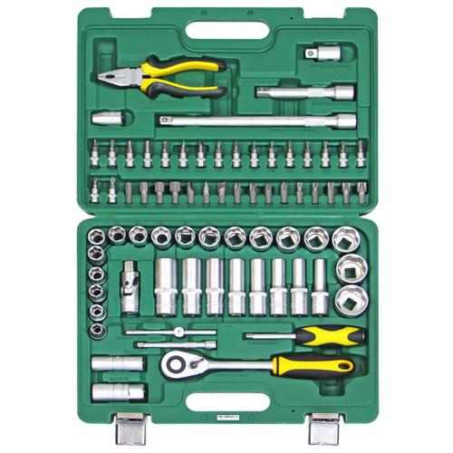 Набор автомобильных инструментов Арсенал (72 предм.) C1412L72 набор инструментов арсенал 3 4 8144660 23 предмета