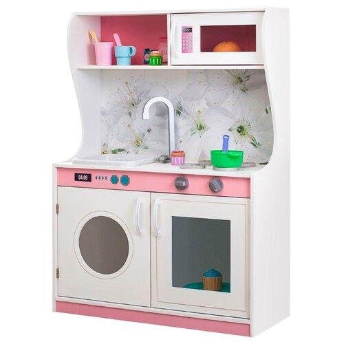 Купить Кухня PAREMO Фиори Бьянка Мини PK218-08 бело-розовый, Детские кухни и бытовая техника