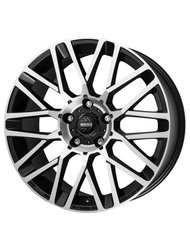 Диски R19 5x114,3 8,5J ET30 D60,1 MOMO REVENGE Matt Black-Polished - фото 1
