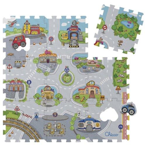 Коврик-пазл Chicco Город (07163.00) коврик пазл феникс большой город 15 элементов