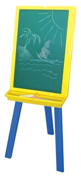 Доска для рисования детская Index двусторонняя (IWB-630)