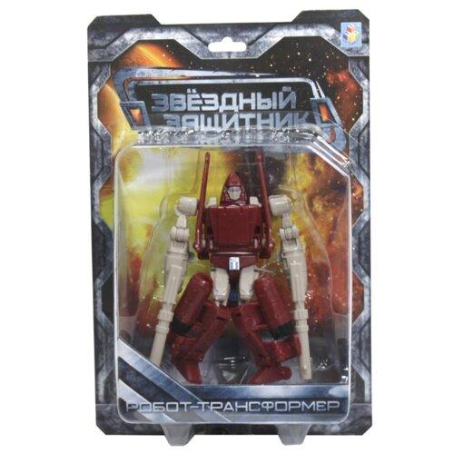 Купить Трансформер 1 TOY Звездный защитник Самолет красно-белый, Роботы и трансформеры