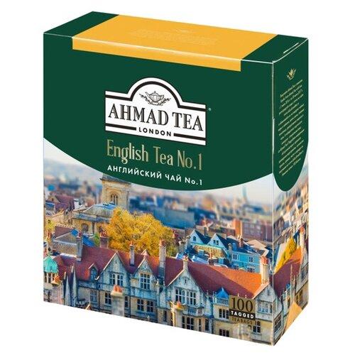 Чай черный Ahmad tea English tea No.1 в пакетиках, 100 шт.