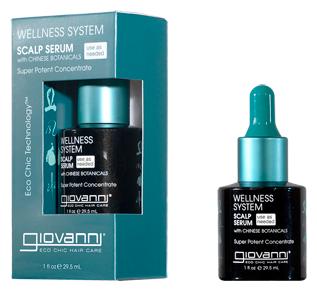 Giovanni Wellness System Сыворотка-эликсир для кожи головы для укрепления волос