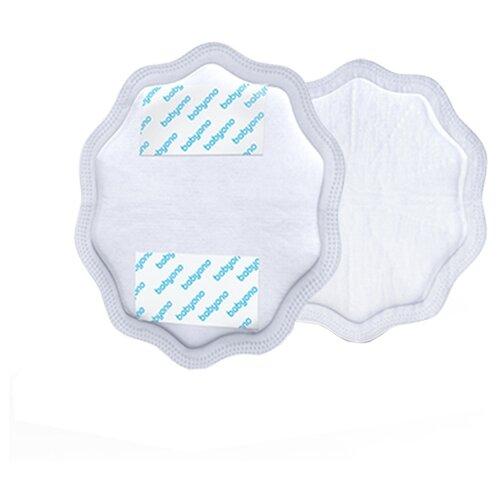 Купить BabyOno Лактационные вкладыши Natural nursing белый 24 шт., Прокладки для груди