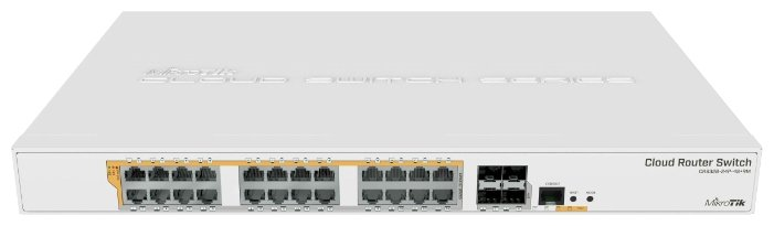 Коммутатор MikroTik CRS328-24P-4S+RM