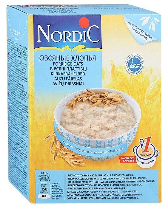 Nordic Хлопья овсяные, 500 г