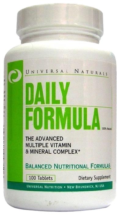 Минерально-витаминный комплекс Universal Nutrition Daily Formula (100 таблеток)