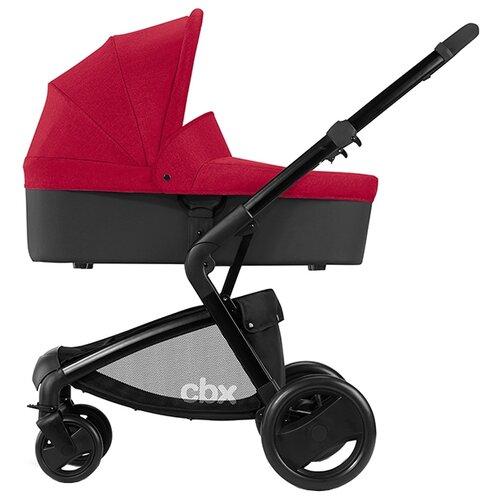 Универсальная коляска CBX by Cybex Bimisi Pure (2 в 1) crunchy red автокресло cbx by cybex aton basic crunchy red