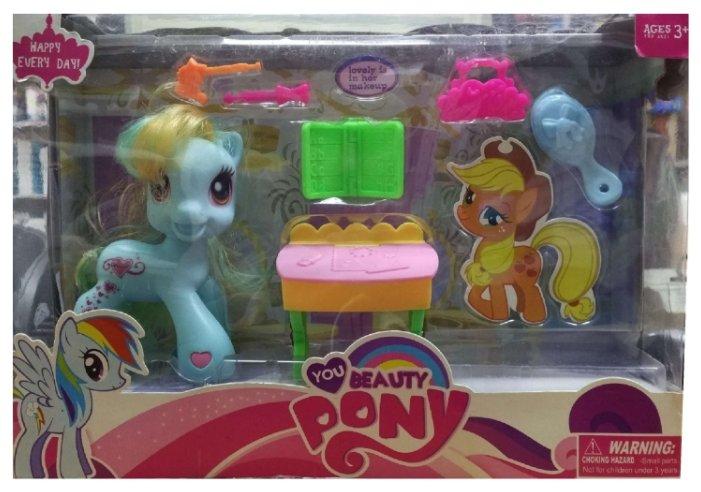Игровой набор CS Toys Пони 81484